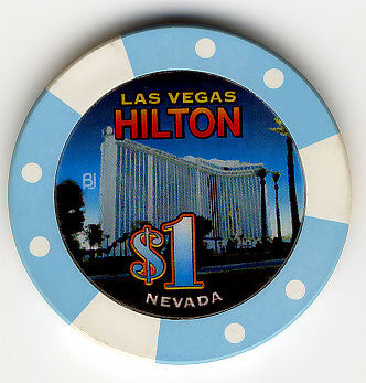 Las Vegas Hilton Casino Las Vegas NV $1 (Bud Jones) Chip 2005