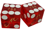 Mandalay Bay Used Matching Number Casino Dice, Pair - Spinettis Gaming - 1