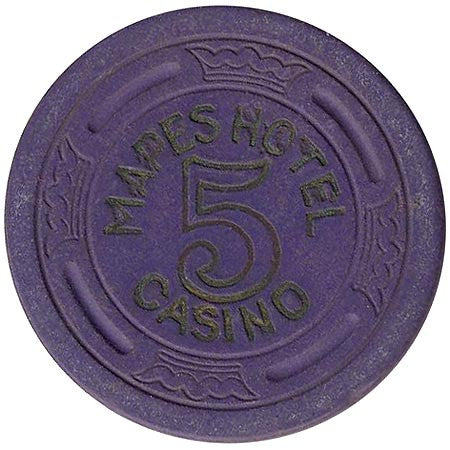 Mapes 5 (purple) chip