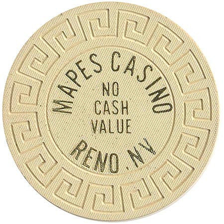 Mapes Casino (No Cash Value) chip