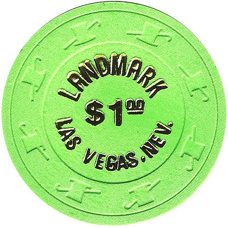 Landmark $1 (green) chip - Spinettis Gaming - 1