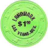 Landmark $1 (green) chip - Spinettis Gaming - 2