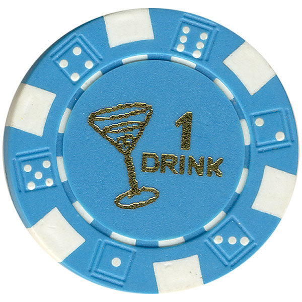 Free Drink Chips - Martini Glass Token/Tokens For Promotions