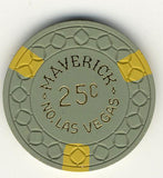 Maverick Casino North Las VEgas 25cent chip - Spinettis Gaming
