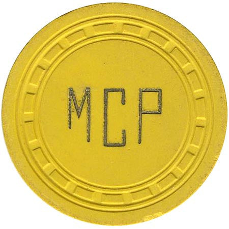Maverick $25 (yellow) chip