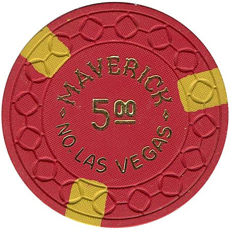 Maverick Casino North Las Vegas $5 chip - Spinettis Gaming