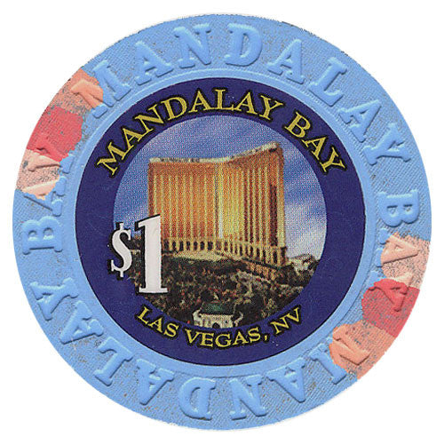 Mandalay Bay Casino Las Vegas $1 Chip 1999