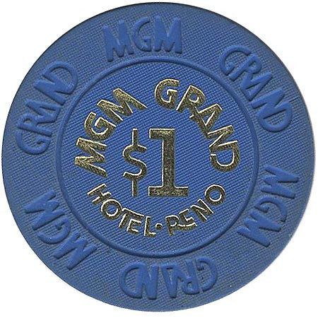 MGM Grand Casino Reno NV $1 Chip 1978