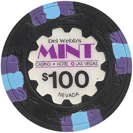 The Mint $100 (black) chip - Spinettis Gaming - 2