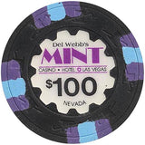 The Mint $100 (black) chip - Spinettis Gaming - 1