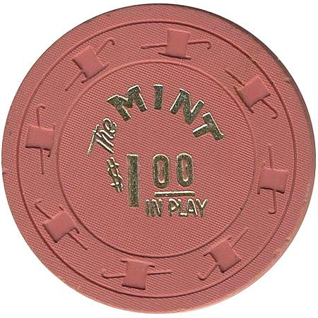 The Mint $1 (pink) chip