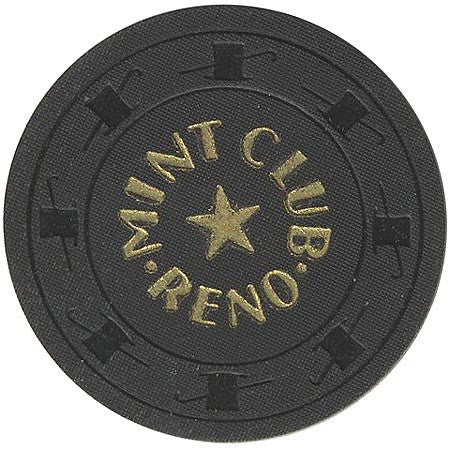 Mint Club Casino Reno NV $100 Chip 1958