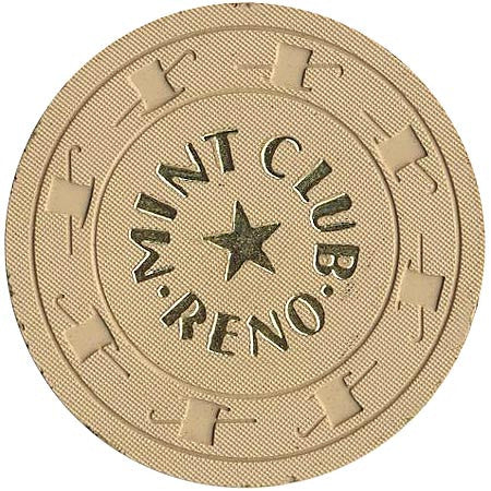 Mint Club Reno $1 (Trade Only) chip - Spinettis Gaming