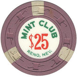 Mint Club $25 (Lilac) chip - Spinettis Gaming - 2