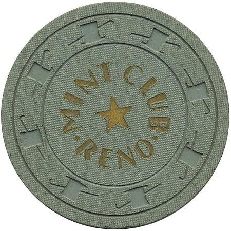 Mint Club, Reno $5 (green) chip - Spinettis Gaming - 1