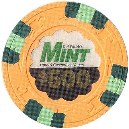 The Mint Casino $500 chip