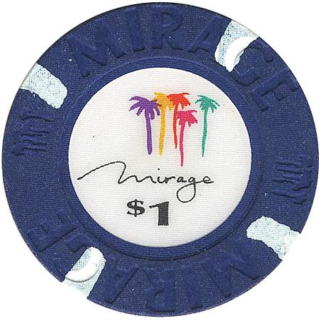 Mirage Casino Las Vegas $1 chip 1989 - Spinettis Gaming