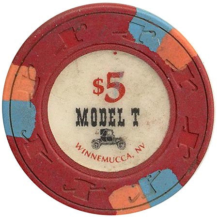 Model T $5 chip - Spinettis Gaming - 1