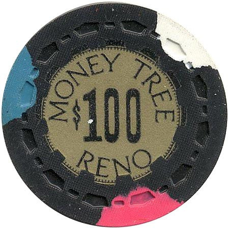 Money Tree Casino Reno $100 chip