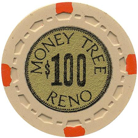 Money Tree $100 (beige) chip