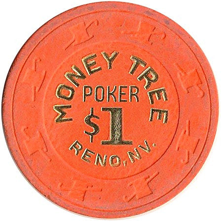 Money Tree Reno $1 Poker Chip