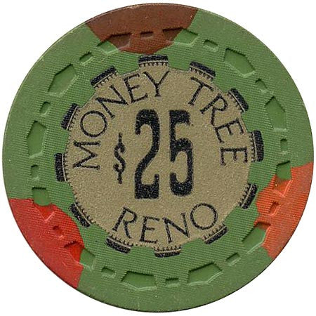 Money Tree Reno $25 (green) chip