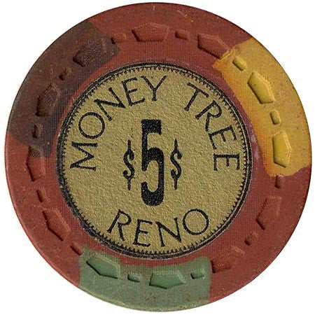 Money Tree $5 (burgundy) chip - Spinettis Gaming - 1