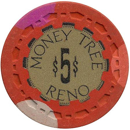 Money Tree $5 (red) chip - Spinettis Gaming - 1
