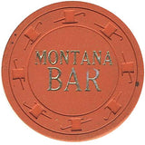 Montana Bar $1 (orange) chip - Spinettis Gaming - 1