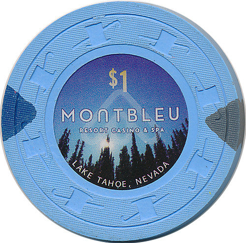 Montbleu, Lake Tahoe NV $1 Casino Chip - Spinettis Gaming - 1