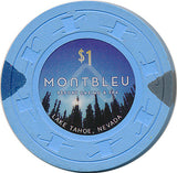 Montbleu, Lake Tahoe NV $1 Casino Chip - Spinettis Gaming - 2