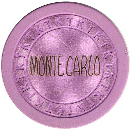 Monte Carlo Club Las Vegas Lavender chip 1946 - Spinettis Gaming