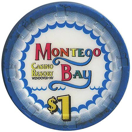 Montego Bay, Wendover NV $1 Casino Chip - Spinettis Gaming - 1