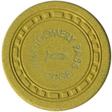 Montgomery Pass Lodge $1 (yellow) chip - Spinettis Gaming - 2