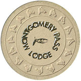 Montgomery Pass Lodge $5 (beige) chip - Spinettis Gaming - 2