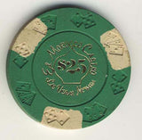 El Morocco $25 (green 1975) Chip - Spinettis Gaming - 1