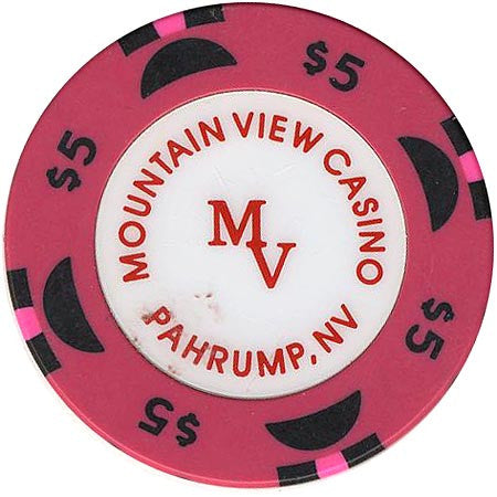 Mountain View $5 (violet) chip - Spinettis Gaming - 2