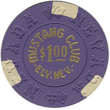 Mustang Club $1 (purple) chip - Spinettis Gaming - 1