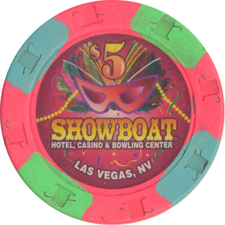 Showboat Casino Las Vegas $5 Chip 1996