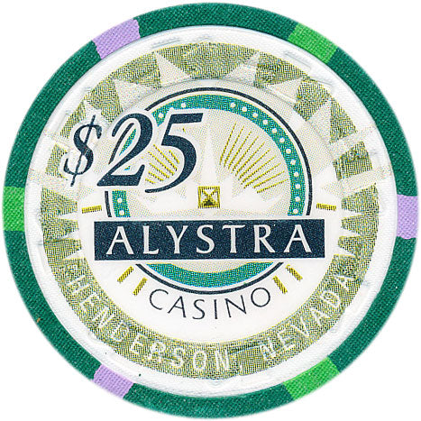 Alystra Casino Henderson NV $25 Chip 1995