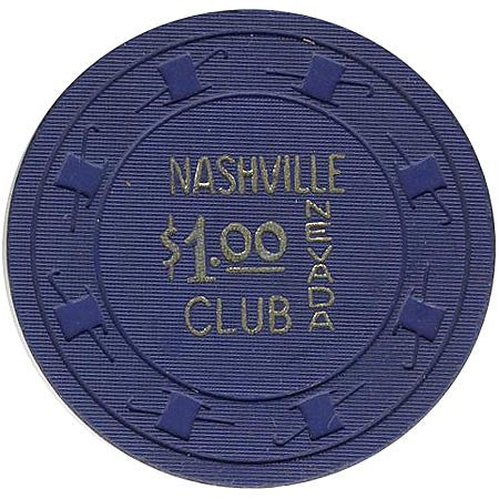 Nashville Club $1 (blue) chip