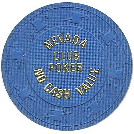 Nevada Club Poker 5 chip - Spinettis Gaming - 1