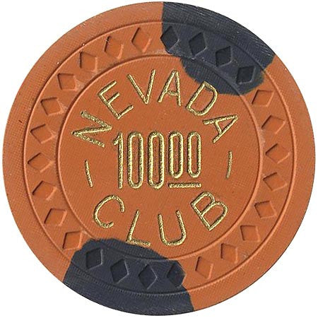 Nevada Club $100 (orchard) chip