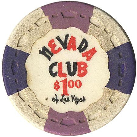 Nevada Club $1 (white) chip