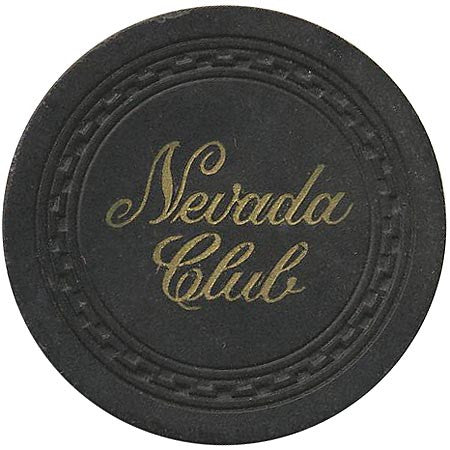 Nevada Club (black) chip