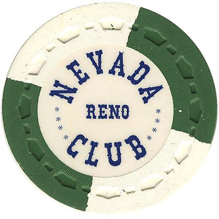 Nevada Club Reno chip - Spinettis Gaming - 1