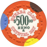Nevada Club $500 (orange) chip - Spinettis Gaming - 2