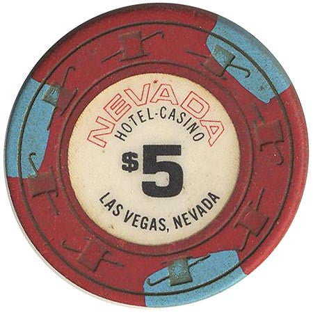 Nevada Hotel Casino Las Vegas NV $5 Chip 1980s