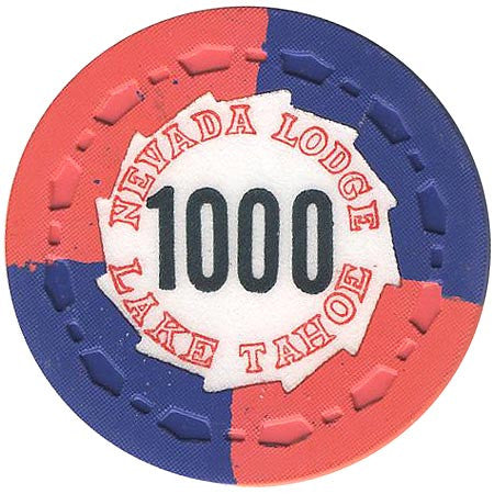 Nevada Lodge 1000 chip