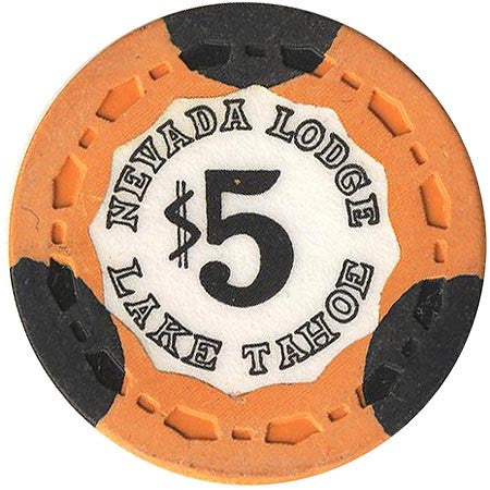 Nevada Lodge $5 (orange) chip